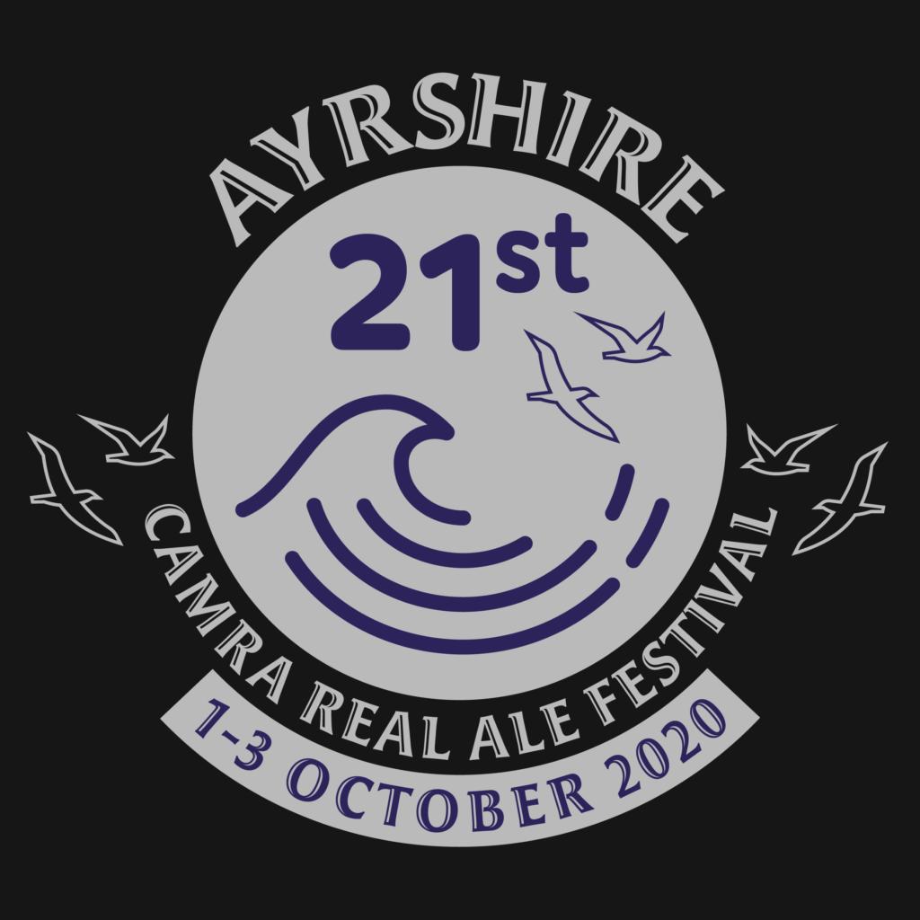 21st Ayrshire CAMRA Real Ale Festival logo